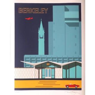 "Michael Murphy ""Berkeley Blues"" Print"