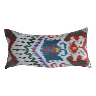 Red Arrow Ikat Pillow