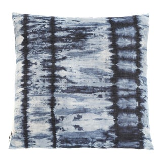 Hand Dyed Indigo Denim Pillow