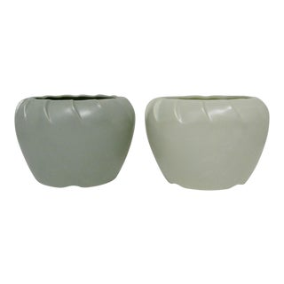 Vintage American Pottery Planters - A Pair