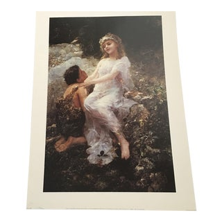 Paul Wagner Woodland Nymph Print