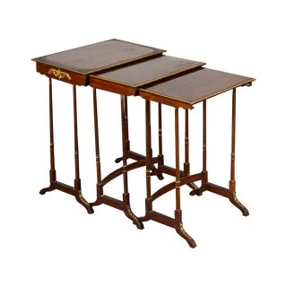 19th-Century French Nesting Tables - Set of 3