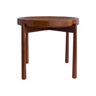 Jens Quistgaard for Dux Flip-Top Teak Table