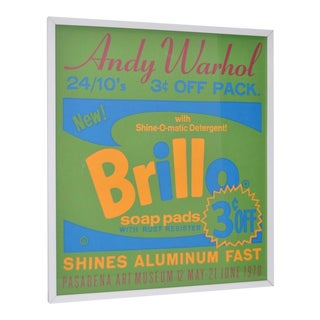 Andy Warhol Exhibition Poster