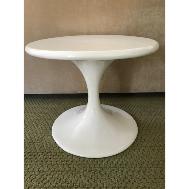 Saarinen Style Tulip Side Table - Image 3 of 8