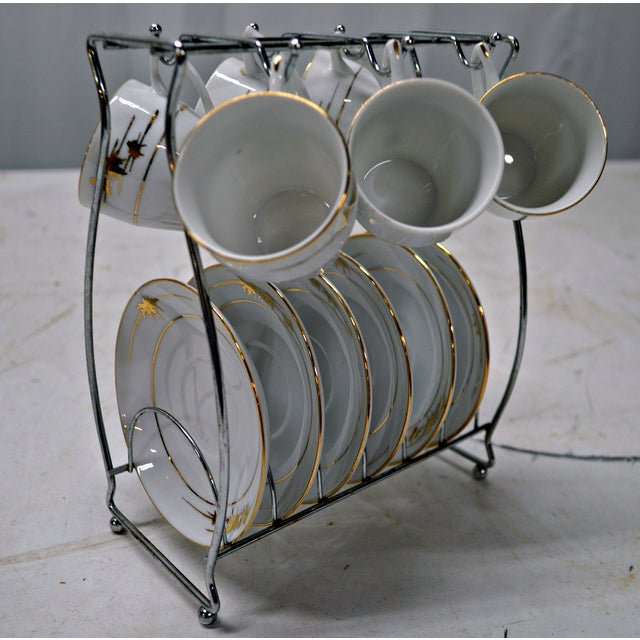 Regency Cups & Saucers with Hanger - Set of 6 - Image 5 of 7