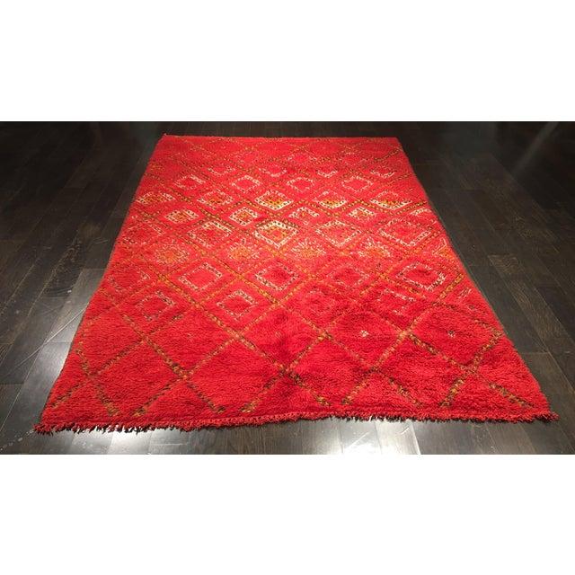 """Bellwether Rugs Organic Wool Beni Orin Moroccan Rug - 5'10""""x8'7"""" - Image 2 of 8"""