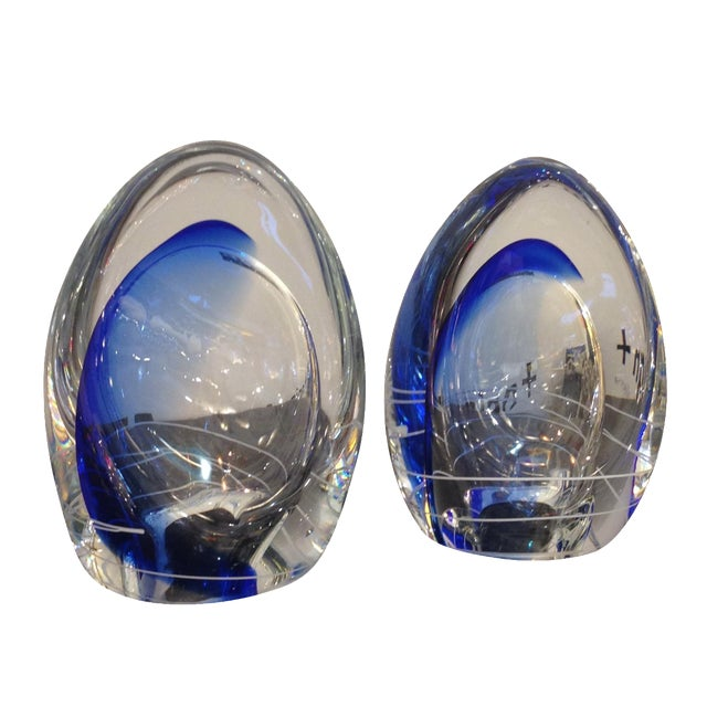 Image of Limited Addition Wachovia Glass Sculptures - Pair