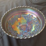 Image of Imperial Carnival Glass Windmill Bowl