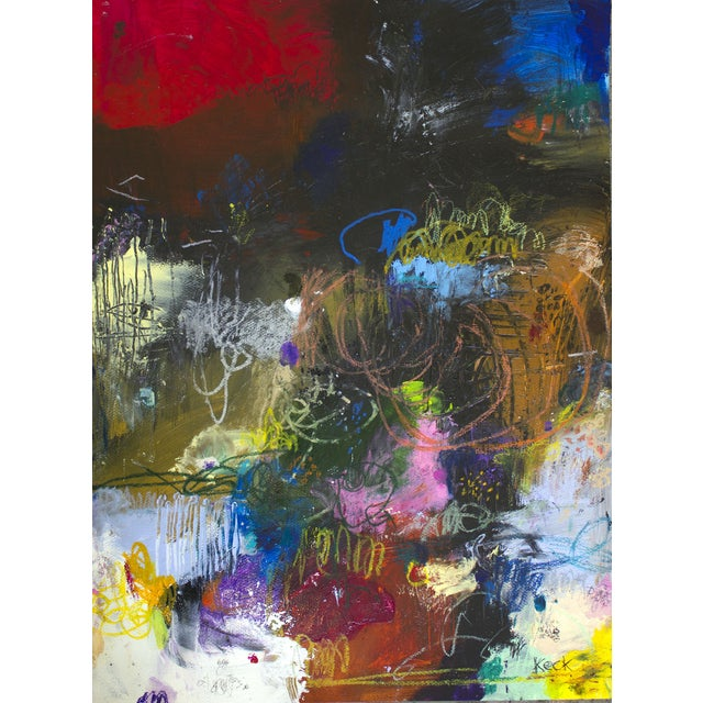 Image of Michel Keck Original Abstract Painting