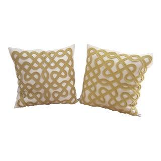 Dwell Linen Throw Pillows- A Pair