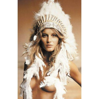 Gisele Bundschen (Indian Headdress)