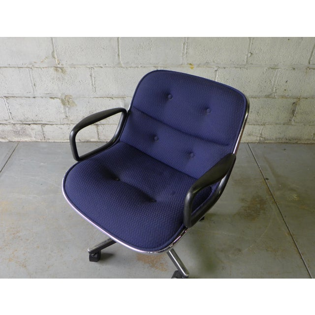 Mid Century Modern Pollock Office Chair by Knoll - Image 2 of 8