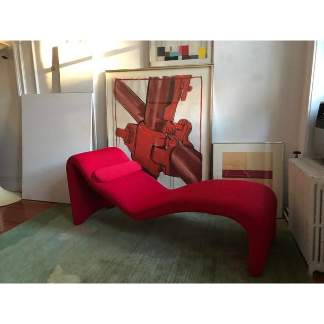 """Olivier Mourgue """"Djinn Relaxer"""" Chaise - Image 2 of 3"""