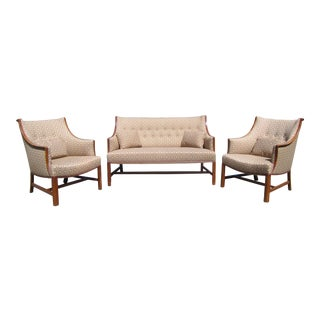 Poul Henningsen Settee and Chairs