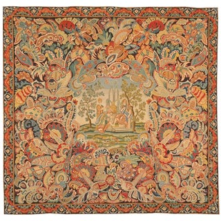 Antique 18th Century, French Needlework Tapestry