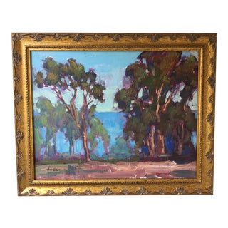 California Landscape with Eucalyptus Trees