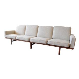 Rare Hans Wegner 4-Seater Sofa