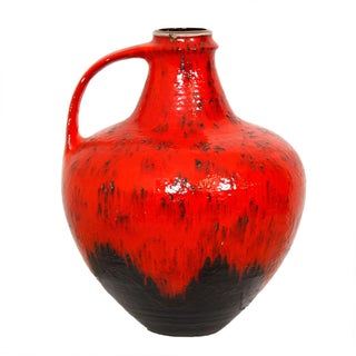 Oversize West German Pottery Jug