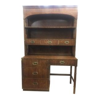 Mid-Century Dixie Campaigner Desk
