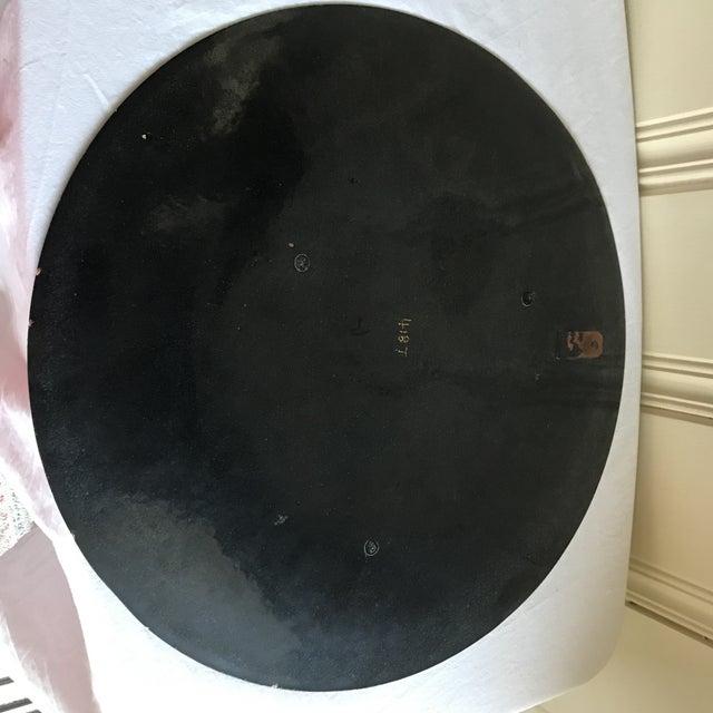 Vintage Enamel Copper Tray - Image 9 of 10