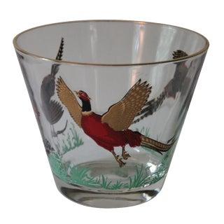 Mid-Century Pheasant Ice Bucket