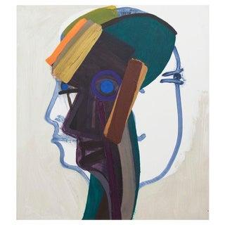 John Millei 3D Woman Oil on Canvas