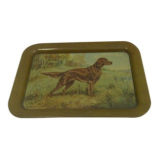 "1920 Vintage ""Irish Setter"" Serving Tray"