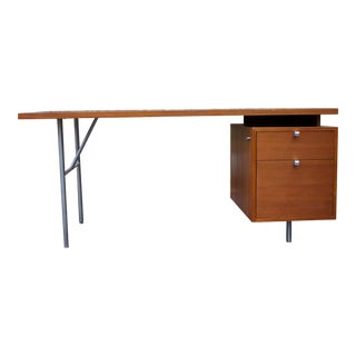 Mid-Century Modern Executive Desk by George Nelson and Herman Miller