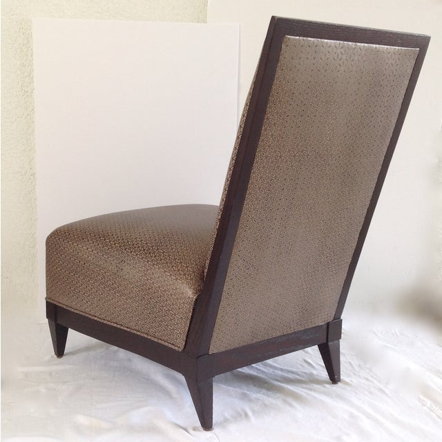 Donghia Panama Occasional Chairs - A Pair - Image 10 of 11