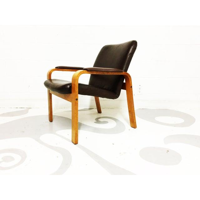 Image of Ekornes Mid-Century Modern Armchairs - A Pair