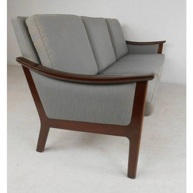 Mid-century Ole Wanscher Style Living Room Suite - Image 6 of 10