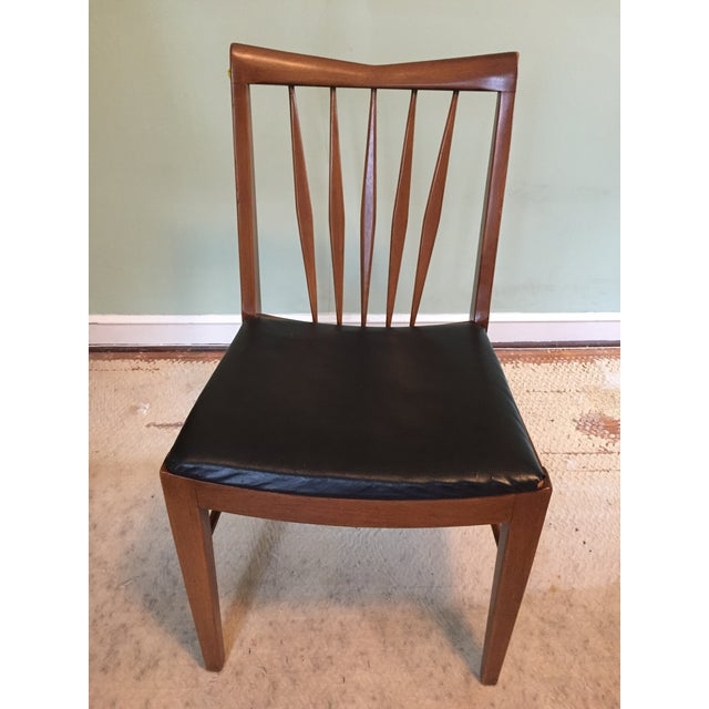 John A. Colby & Sons MCM Walnut Desk Chair - Image 2 of 8