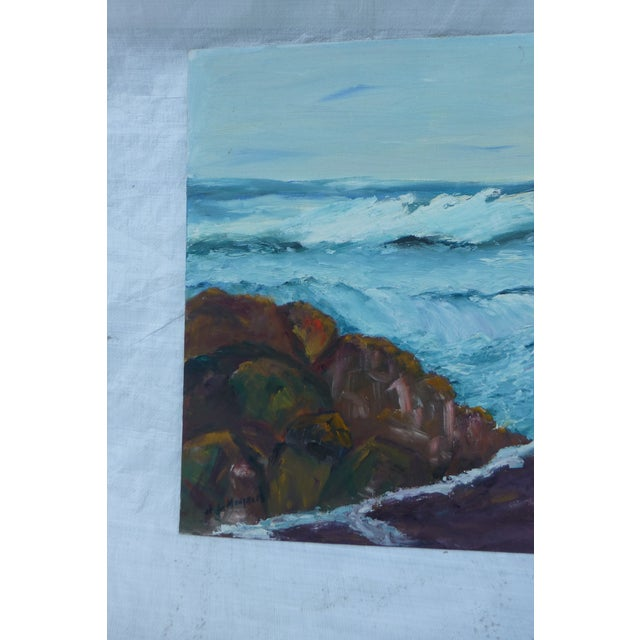 H.L. Musgrave Mid-Century North Shore Painting - Image 3 of 7