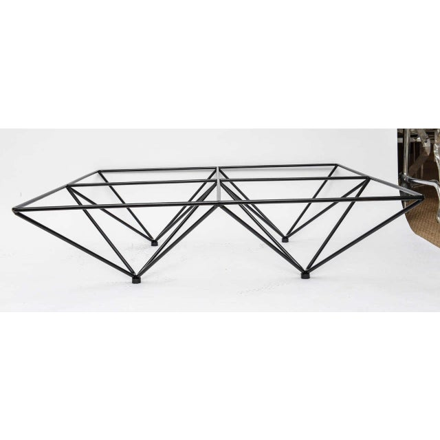 Minimalist Geometric Paolo Piva Alanda Coffee Table - Image 4 of 10