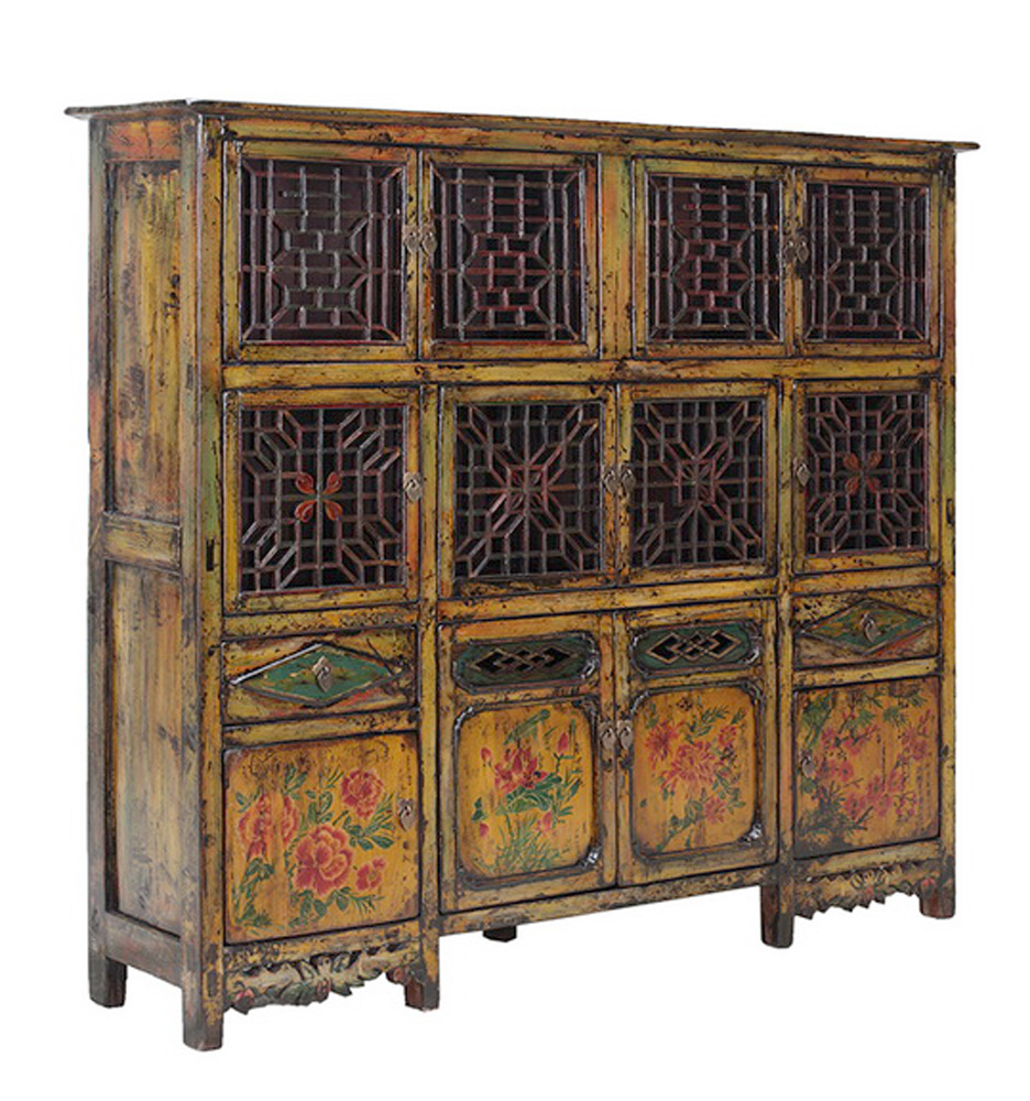 vintage dongbei kitchen dining room curio cabinet chairish bunching curio cabinet dining room furniture