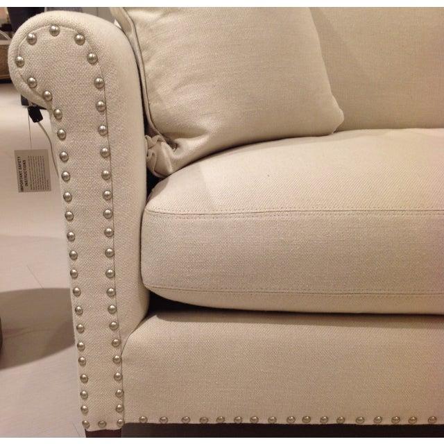 Lillian August Paris Linen Sofa - Image 6 of 9