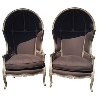 Restoration Hardware Versailles Dome Chairs - Pair