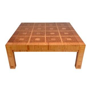 Vintage Modern-style Geometric Coffee Table