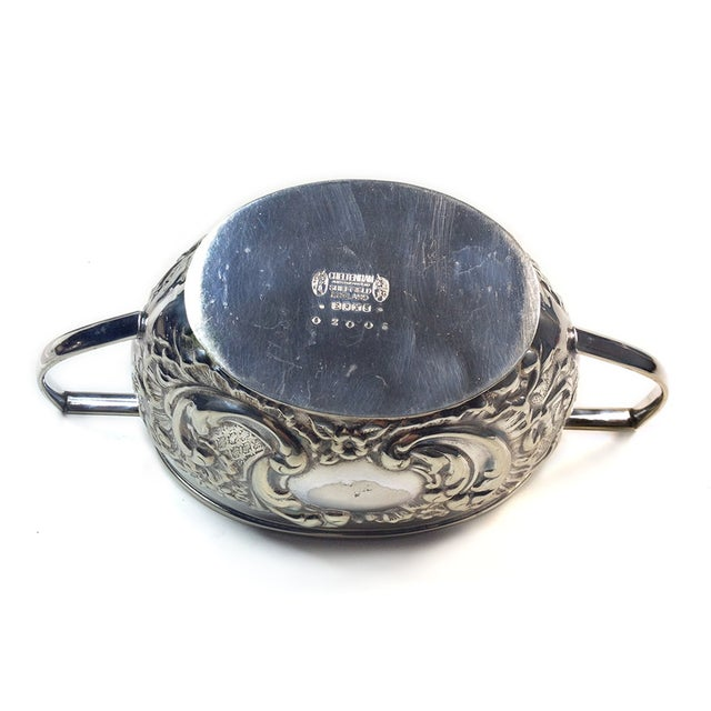 Vintage Sheffield Silverplate Sugar & Creamer - Image 5 of 5