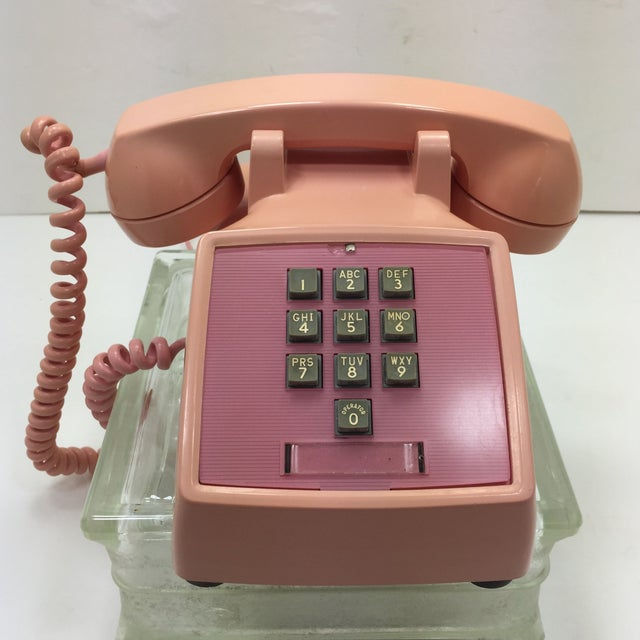 Western Electric 1960s Pink 1500 Telephone - Image 2 of 8