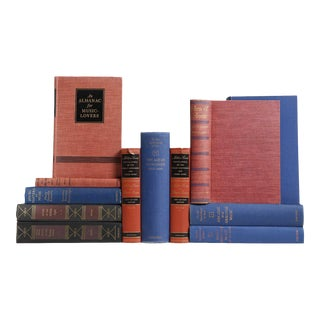 Music Reference Library in Red & Blue - Set of 12