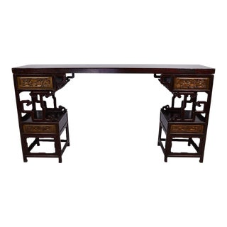 Chinese Antique Carved Altar Table