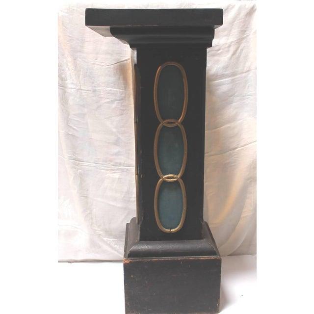 19th Century Masonic Lodge Original Painted Pedestal - Image 9 of 9