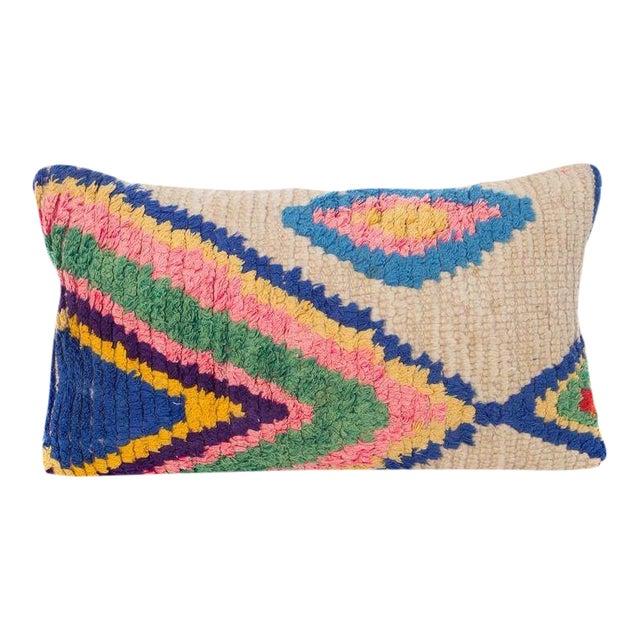 Moroccan Boucherouite Pillow - Image 1 of 3