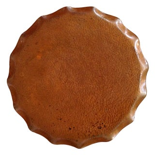 Tasmanian Hand Wrought Copper Tray
