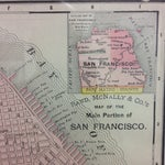 Image of Antique 1895 Map of San Francisco