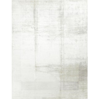Modern Hand Knotted Wool Rug - 8′9″ × 11′9″