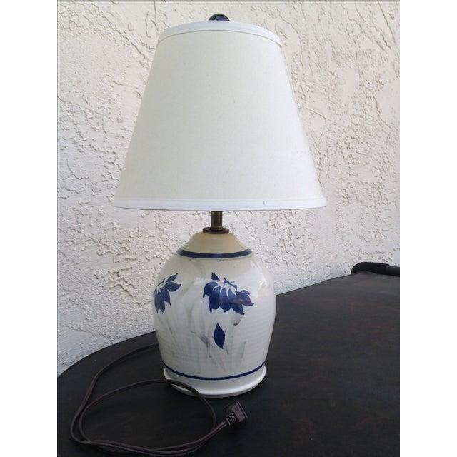 Stoneware Ceramic Lamp - Image 5 of 5