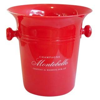 Vintage French Montebello Ice Bucket
